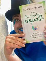 Raven Digitals with his Book